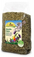Jr Farm основной корм для шиншилл в пелеттах JR Chinchilla Pellets 1 кг.