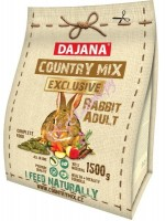 Dajana Country Mix Rabbit Exclusive 1.5kg
