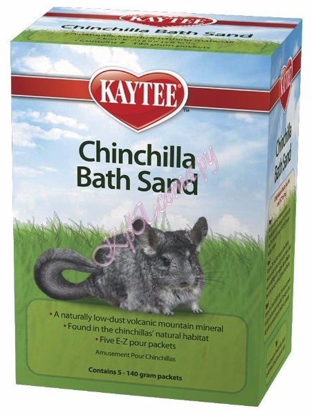 Песок Chinchilla Bath Sand для шиншилл вид 2