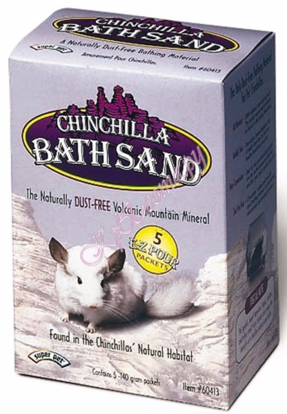 Песок Chinchilla Bath Sand для шиншилл