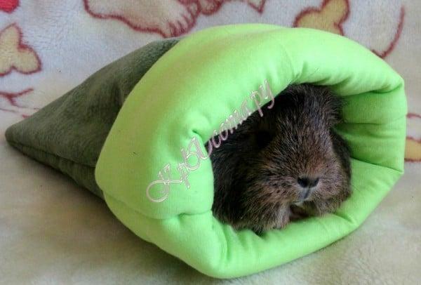 Лежанка для морской свинки своими руками 5