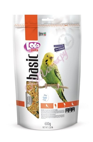 Lolo Pets Food Complete Budgies Doypack