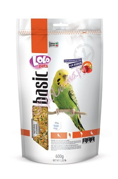 Lolo Pets Fruit Food Budgies  Doypack