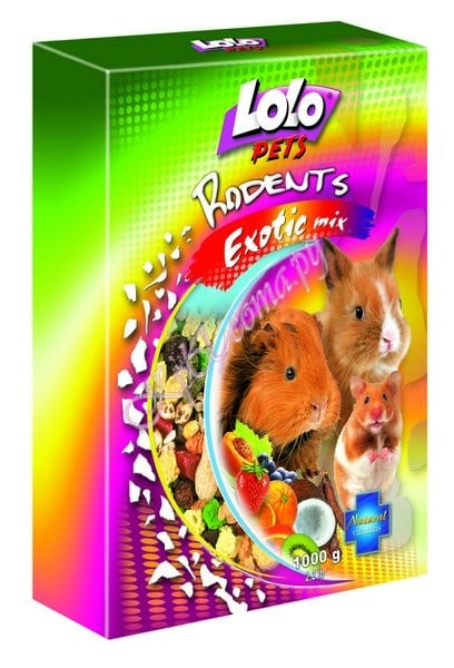 LoLo Pets Exotic food for rodents ( mix )