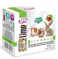 LoLo Pets Mineral block for rodents- Apple