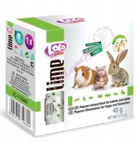 LoLo Pets Mineral block for rodents- Popcorn