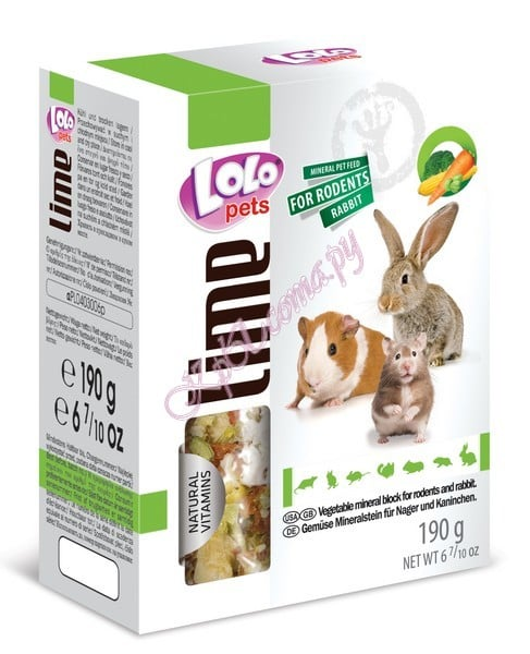 LoLoPets Mineral block for rodents РАСПРОДАЖА
