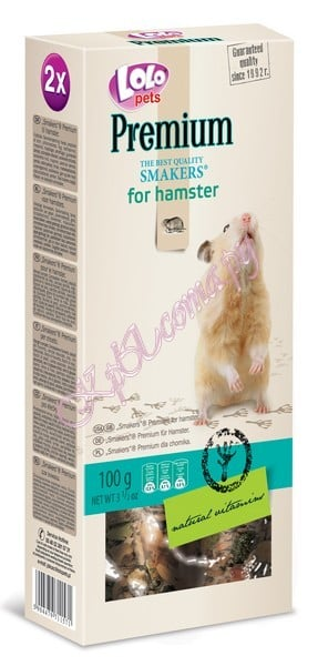 Smakers Премиум для хомяков Lolo Pets Smakers Premium for Hamster 100 г.