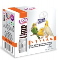 LoLo Pets Mineral block for birds- Natural