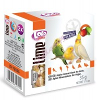 LoLo Pets Mineral block for birds- Apple