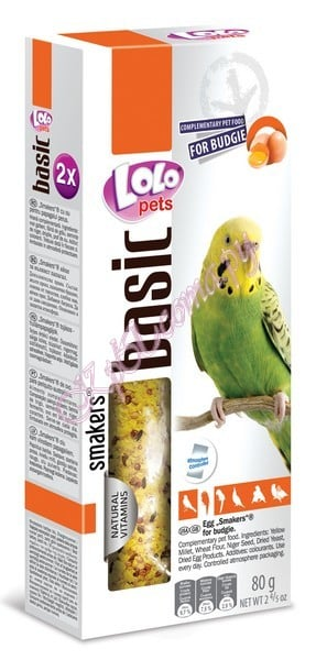 LoLo Pets Egg Smakers for budgies