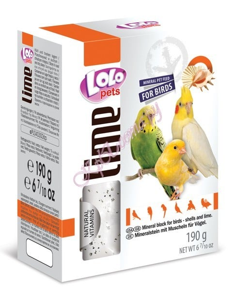 LoLo Pets Mineral block for birds- Shells XL
