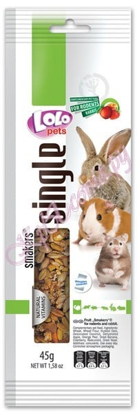 Lolo Pets Smakers Weekend Style Rodents  палочка фруктовая для грызунов