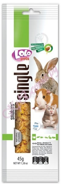 Lolo Pets Smakers Weekend Style Rodents медовая палочка для грызунов