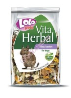 Lolo Pets Herbal Tasty basket for degu