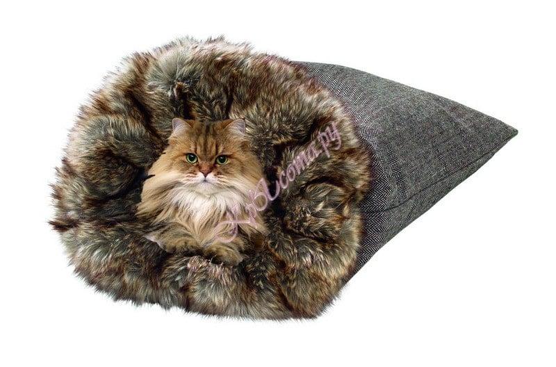выкройка кошкин дом, комплексы для кошек делаем сами, сшить домик.