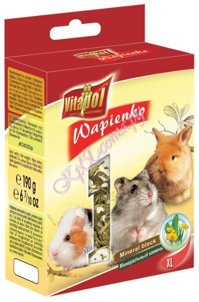 Vitapol Mineral block for rodents Dandelion XL