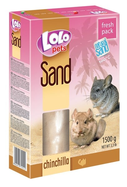 Lolo Pets Песок Chinchilla