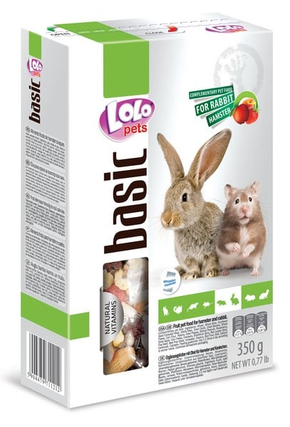 LoLo Pets Fruit food for Hamsters & Rabbits