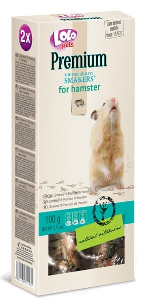 Lolo Pets Smakers Premium for Hamster