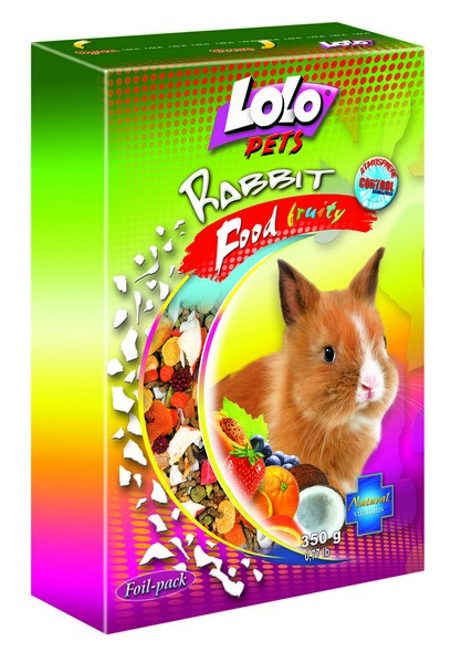 LoLo Pets Fruit food for Rabbits