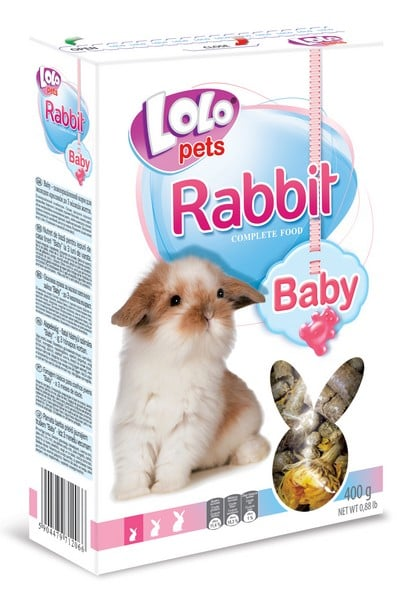 LoLo Pets Food for Rabbit Baby