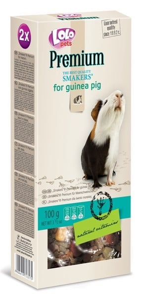 Lolo Pets Smakers Premium for Guinea Pig