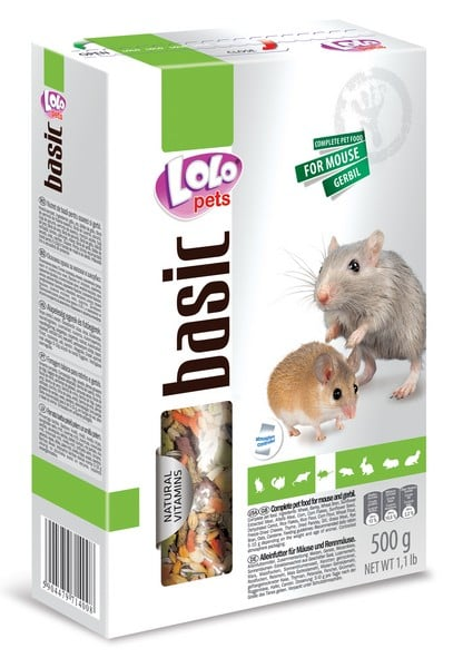 LoLo Pets Food Complete for Mice