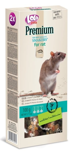 Lolo Pets Smakers Premium for Rat