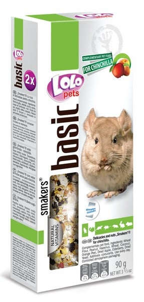 Lolo Pets Delicaties Nuts Smakers Chinchilla