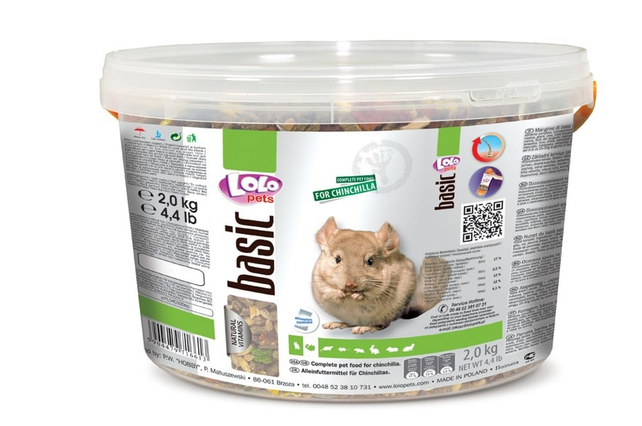 Lolo Pets Food Complete Chincilla Bucket