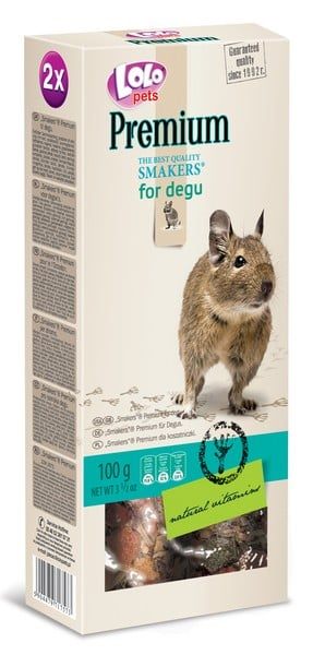 Lolo Pets Smakers Premium for Degu