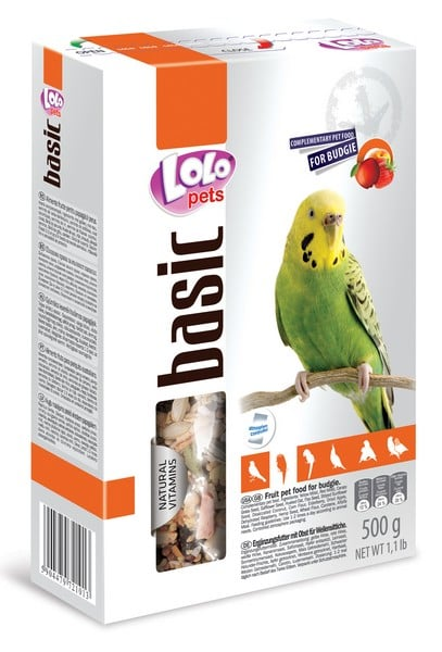 LoLo Pets Fruit food for Budgies