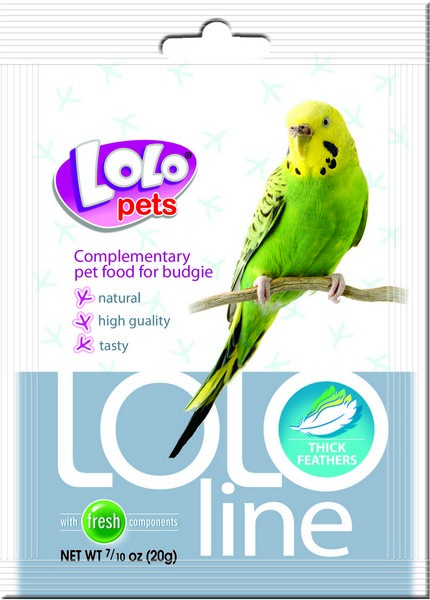 LoLo Pets Lololine Thick feathers