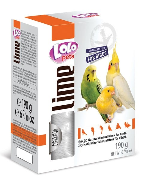 LoLo Pets Mineral block for birds- Natural XL