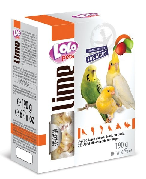 LoLo Pets Mineral block for birds- Apple XL