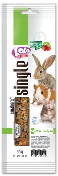 Lolo Pets Smakers Weekend Style фруктовый Rodents