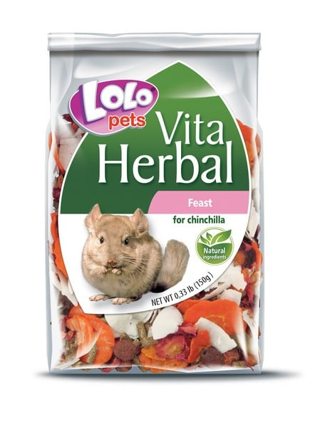 Lolo Pets Herbal Chinchilla Feast