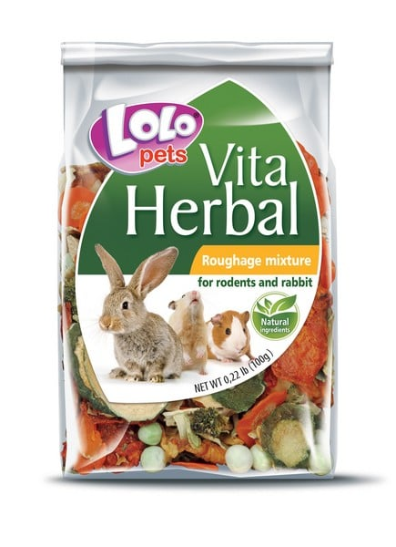 Lolo Pets Herbal Roughage Mixture