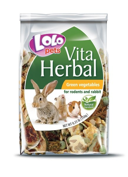 Lolo Pets Herbal Green Vegetables