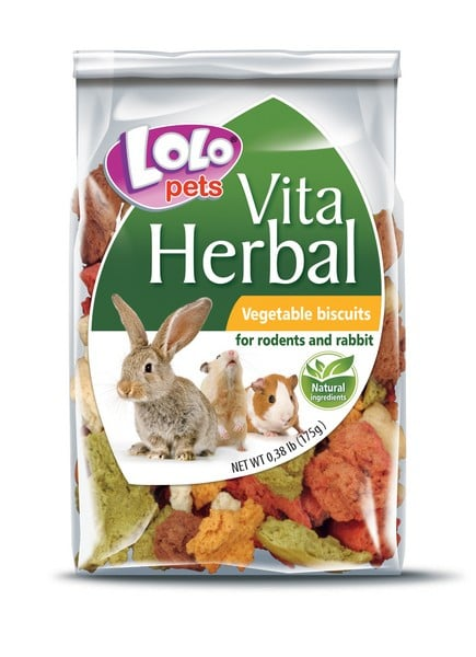 Lolo Pets Herbal Vegetable Biscuits