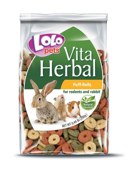 Lolo Pets Herbal Puff-Rolls
