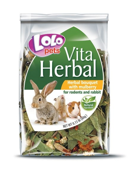 Lolo Pets Herbal Bouguet with mulberry